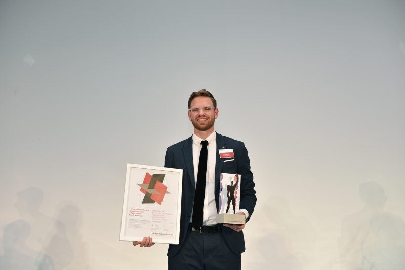 Jason Heinrich of UBC and DIALOG, LafargeHolcim Sustainability Awards