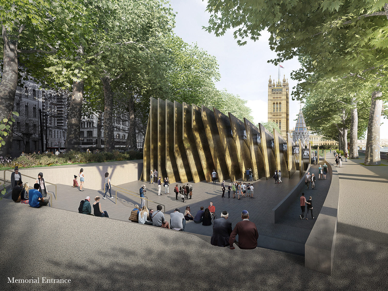 Adjaye Associates, UK Holocaust Memorial
