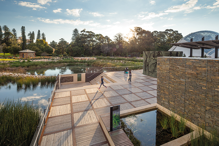 Urban Wetland in heart of Adelaide wins Australian sustainability award
