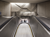 De l'Église Metro station. Photo courtesy of Lemay