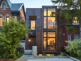 Copper in Architecture, Dovercourt House, Toronto, Ja Architecture