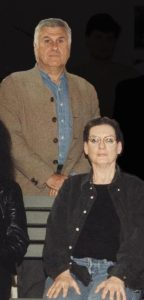 Dan Hanganu and Phyllis Lambert, while serving as jurors in the 1997 RAIC International Competition