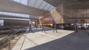 New Cyprus Archaeological Museum by Pilbrow & Partners Photo credit: Future Projects - Competition Entries, World Architecture Festival,