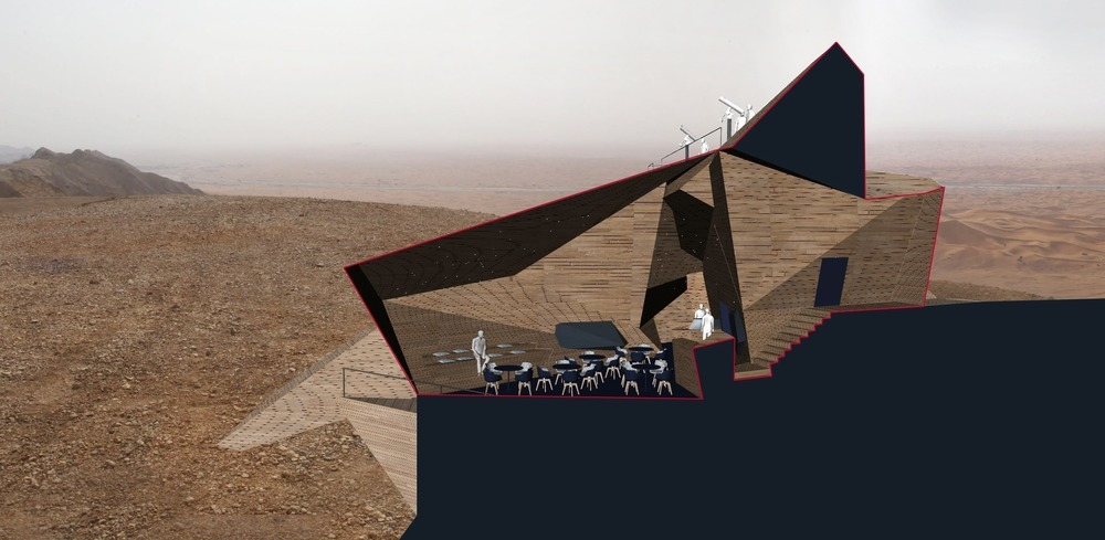 World Architecture Festival, Sharjah Observatory, Mleiha National Park by 3deluxe Transdisciplinary Design Photo credit: Future Projects Experimental