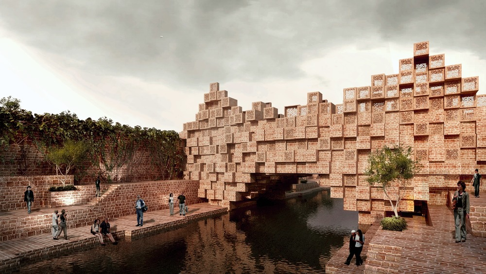 World Architecture Festival, Future Projects Infrastructure, Photo credit: The Bridge by Sanjay Puri Architects
