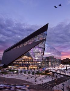 World Architecture Festival, HKS, U.S. Bank Stadium Photo credit: Completed Buildings Sport