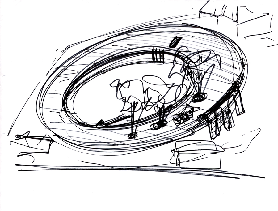 Concept Diagram. Image courtesy of Tezuka Architects