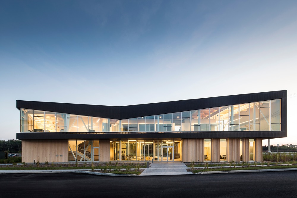 Lemay's Pomerlau Office among American Architecture Prize winners