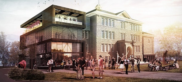 King Edward Arts Hub and Incubator. Image via City of Calgary.