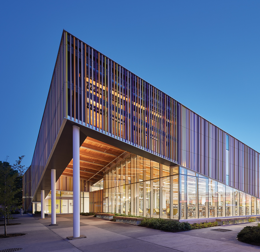 Albion District Library, TPL, Perkins + Will, Toronto