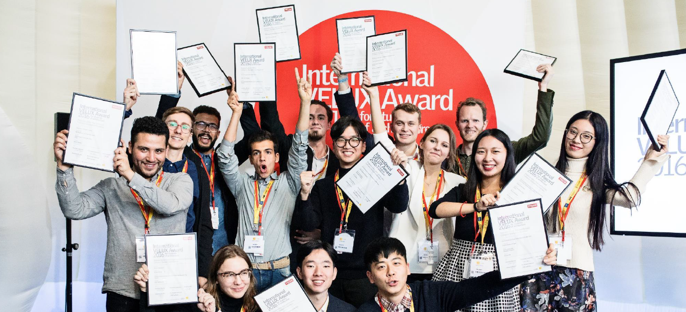 2017 VELUX Student Award winners.
