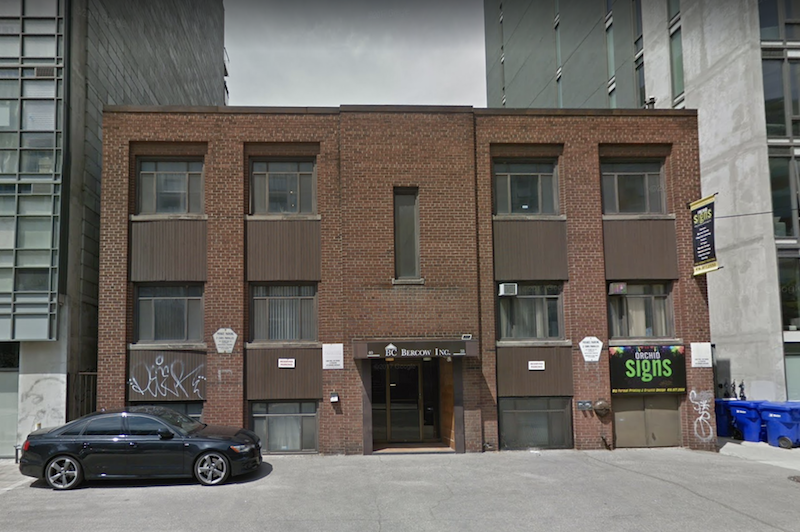"""Described by the owner as """"unremakrable,"""" the historic building at 38 Camden has been added to the register. Image via Google Maps."""