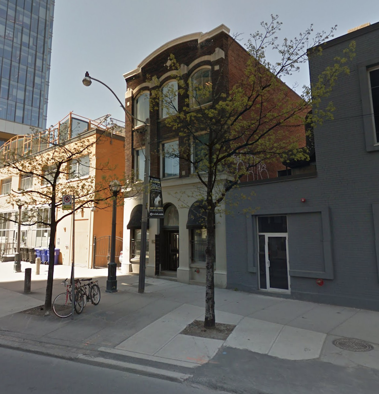 The downtown Toronto property at 340 Richmond West is among the 94 buidlings added to the heritage register. Image via Google Maps.