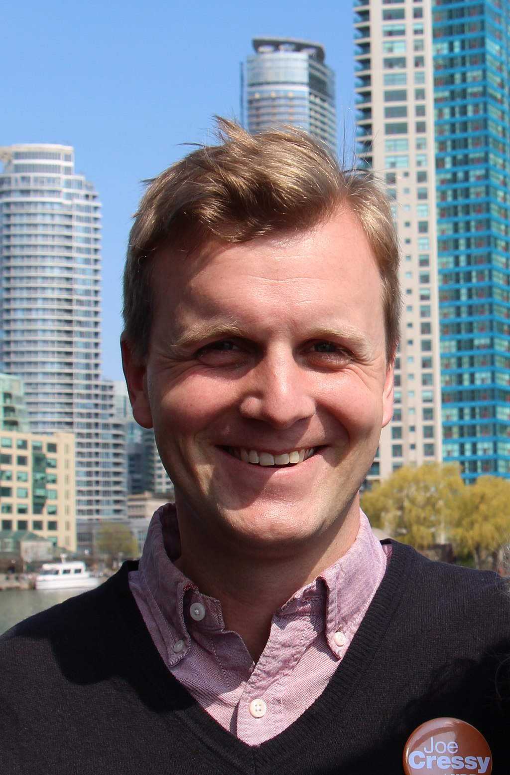 Joe Cressy in 2014. Photo by Tim Ehlich via Wikimedia Commons.