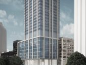 A rendering of the completed project. Image via Avison Young.