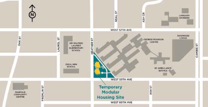 The Marpole site. Image via City of Vancouver.