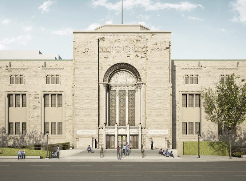 Weston Entrance, Royal Ontario Museum, Hariri Pontarini.