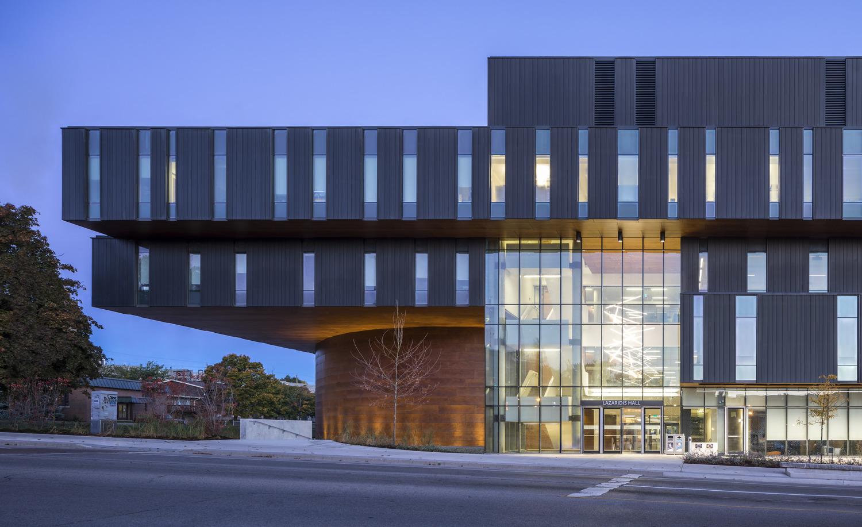 Lazaridis Hall, Diamond Schmitt Architects