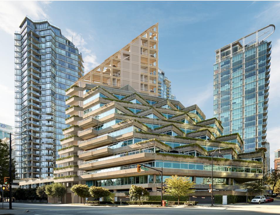 Shigeru Ban, Terrace House, Vancouver, Mass Timber