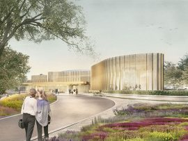 The new Tom Patterson Theatre. Image courtesy of Hariri Pontarini / Stratford Festival