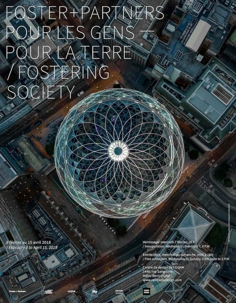 Fostering Society: Foster + Partners exhibit coming to UQAM