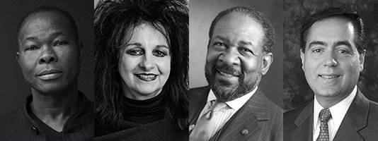 RAIC Honorary Fellows, Diébédo Francis Kéré, Odile Decq, William J. Stanley III, John Sorrenti