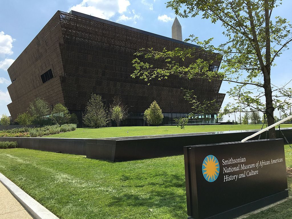 Exterior of the Smithsonian National Museum of African American History and Culture, David Adjaye, Beazley Awards