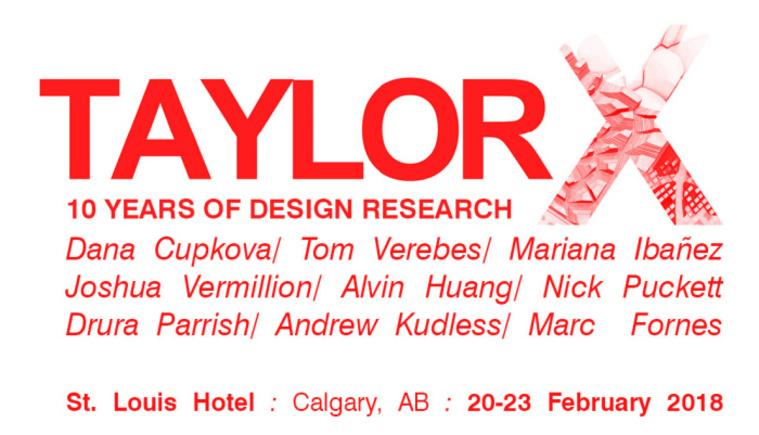 Taylor X, University of Calgary