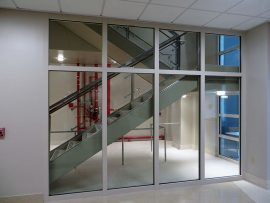 fire rated glass, SAFTI First, AIBC