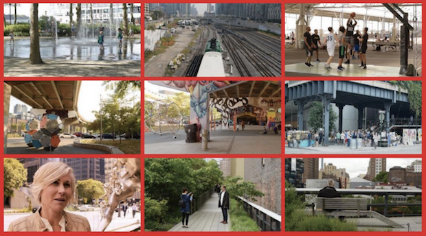 Ian Garrick Mason's short film features Toronto's Bentway, New York's High Line, and urban planner Jennifer Keesmaat et al.