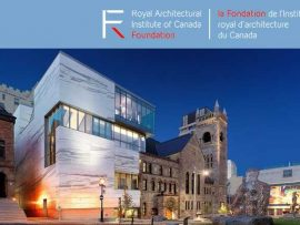 RAIC Centennial Fund for Inerns / Intern Architects.
