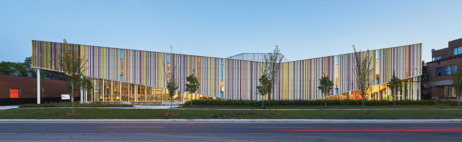 Perkins+Will's Albion Library a sole Canadian winner at AIA COTE