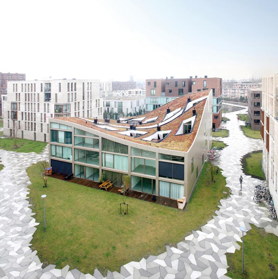 Blok K/Verdana, 2009, by NL Architects in Amsterdam. Photo: Raoul Kramer