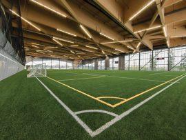 Stade de Soccer de Montréal, Saucier Perrotte