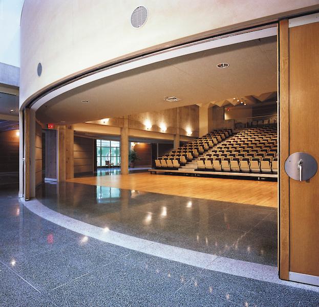Auditorium. Photo by Fiona Spalding-Smith