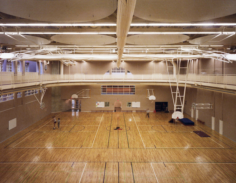 Gymnasium. Photo by Fiona Spalding-Smith