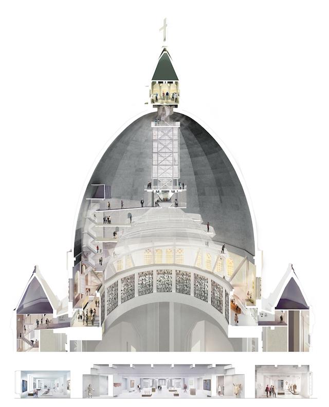 Saint Joseph's Oratory, Atelier TAG, Architecture49