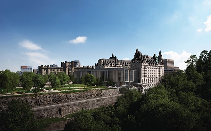 Heritage Ottawa, Château Laurier