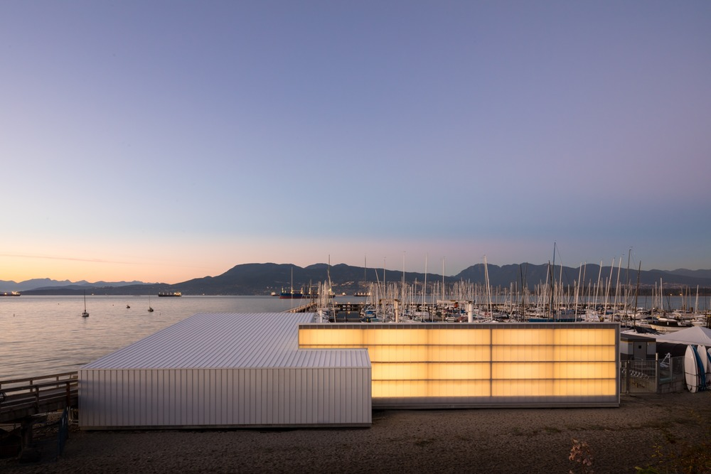 Dock Building, Vancouver Yacht Club, Michael Green Architecture