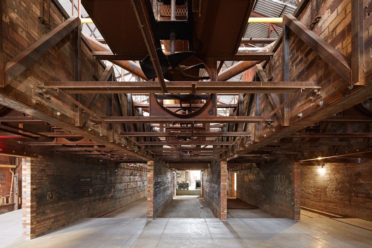 Evergreen Brick Works, Kiln Building, LGA