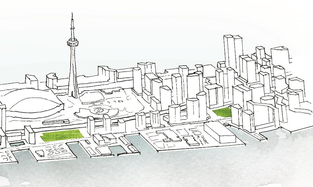 Toronto parks, Waterfront Toronto