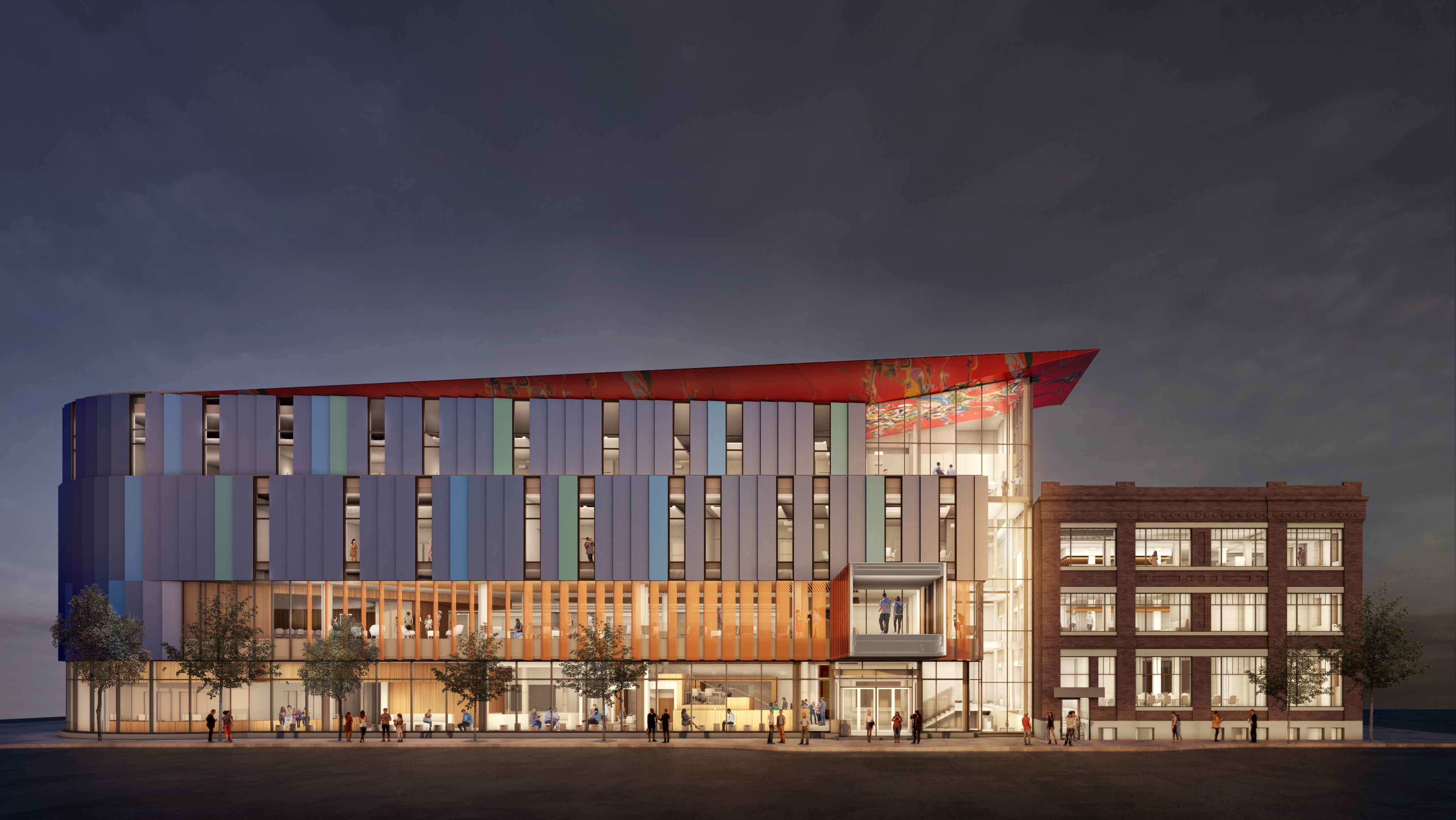 Red River College, Innovation Centre, Diamond Schmitt, Number TEN