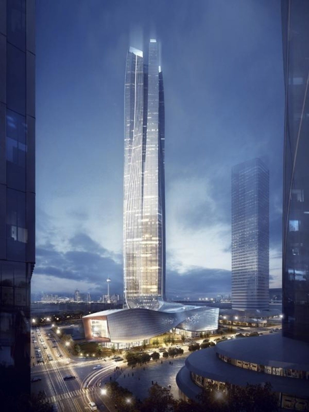 Architectural Design of the Year:Aedas / Hengqin International Financial Center