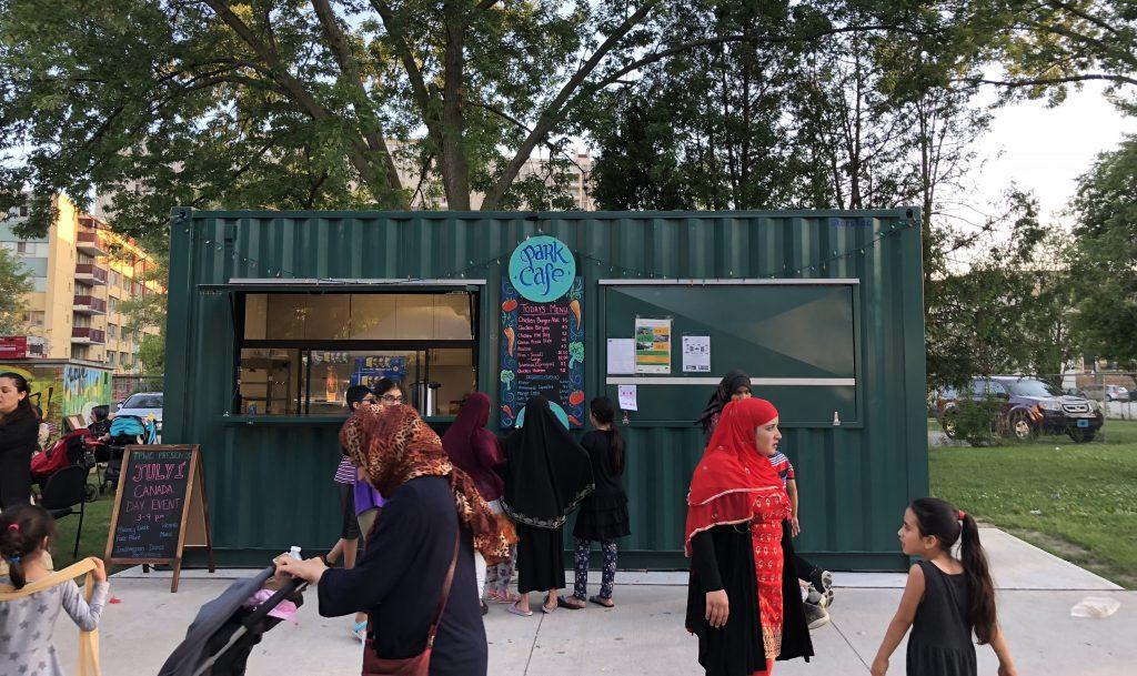 Thorncliffe Community Café, Park People, Public Space Incubator