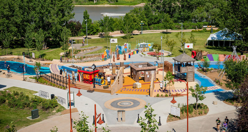 The Forks, Winnipeg, CSLA Project Legacy Award, landscape architecture