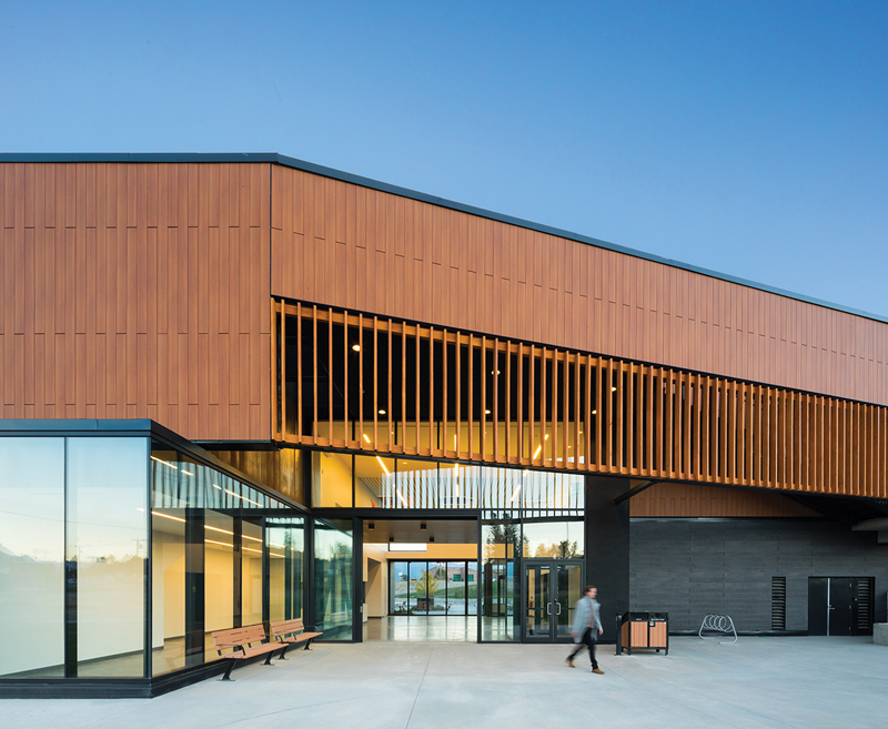Columbia Valley Centre, Shape Architecture, Hindle Architects