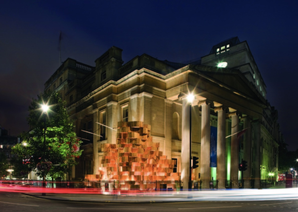 Designed by Bing Thom Architects, the 2008 London Design Festival installation at Canada House provided vital international exposure for Canadian architects. Photo by Morley von Sternberg.