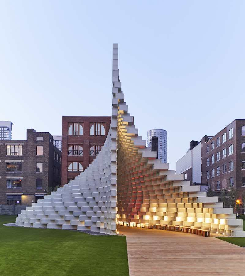 Bjarke Ingels Serpentine Pavilion comes to Toronto as 'Unzipped'