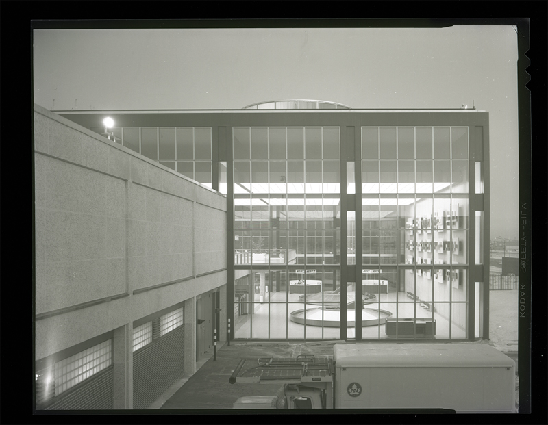 Since demolished, Green Blankstein Russell and Associates' Winnipeg International Airport (1964) helped create a gateway to the city.