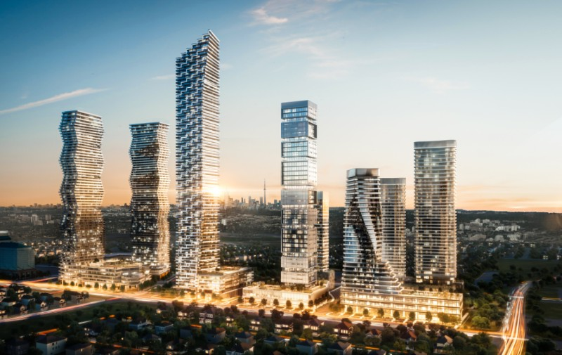 IBI Group unveil design for Mississauga's tallest building at 'M City'